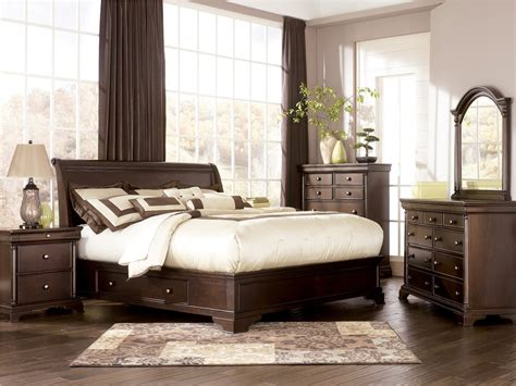 ashley furniture porter bed porter sleigh storage bedroom set by millennium ashley