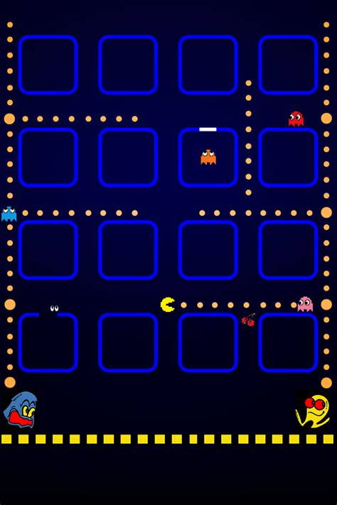 wallpaper iphone 5 pacman iphone hd background pacman free iphone backgrounds