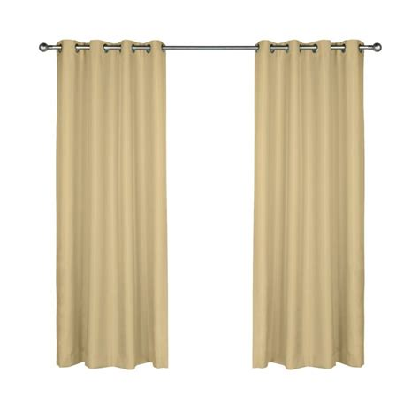 khaki curtains commonwealth outdoor decor gazebo 96 quot grommet curtain