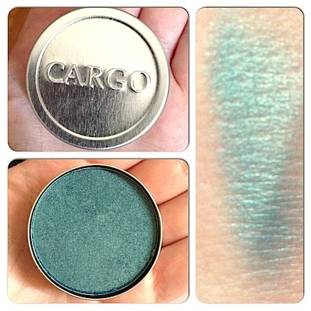 Cargo Liquid Shadow Collection by Makeup Review Swatches Cargo Route 66 Road Trip Kit