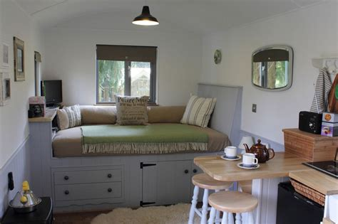 Design Your Own Bathroom Layout the huts shepherds hut retreat