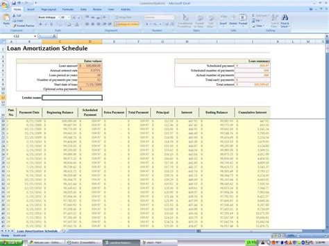 amortization calculator excel template loan payoff spreadsheet excel loan payment spreadsheet