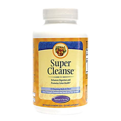 Detox Pills Vitamin Shoppe by Cleanse 200 Tablets By Natures Secret At The