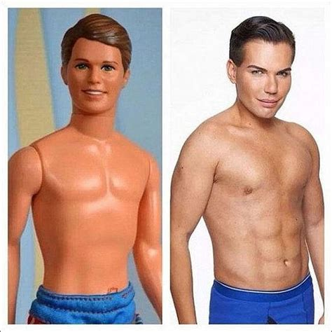 human ken doll before and after here comes a new challenger will brazilian human ken