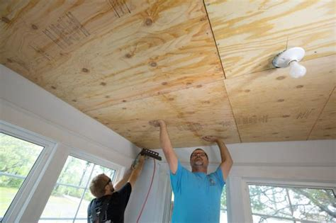 ceiling treatment how to install a reclaimed wood ceiling treatment how