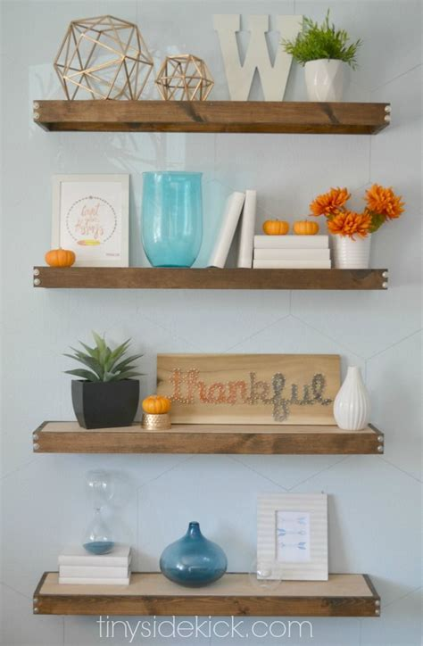 best 25 floating shelf decor ideas on living