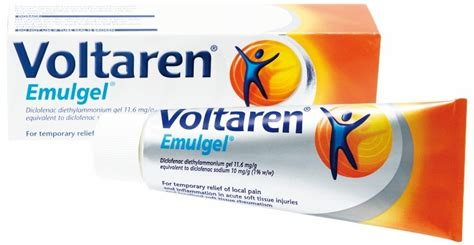 Voltaren Gel 50 G Original Voltaren Gel Relieve Inflammation And Edema 50g