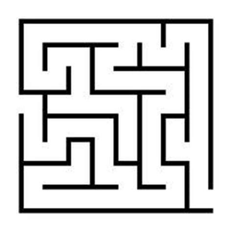 image gallery maze templates