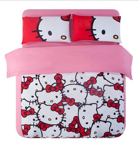 1 Set Cover Hello Pink hello quilt cover promotion shop for promotional