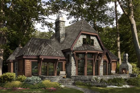 rustic luxury log cabins plans