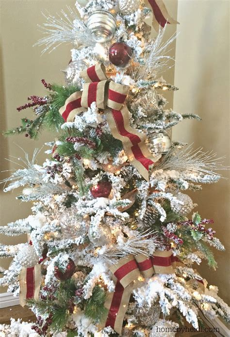 how to add ribbon to christmas tree how to add ribbon to a tree fishwolfeboro