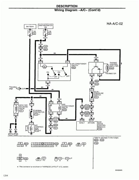 1998 nissan frontier stereo wiring diagram 1998 wirning