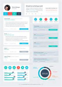 resume flat ui design cv designs flat