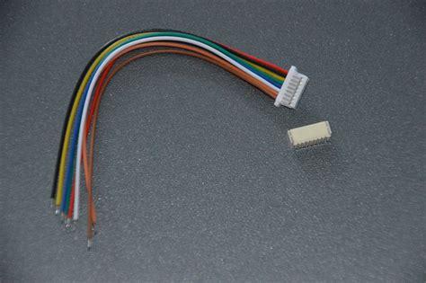 Saklar On Mini 2 Pin Kabel 10cm micro mini stecker 1 0mm 8 pin mit kabel 10cm 28awg jst sh kompatibel