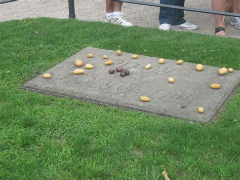 on grave why they put potatoes on frederick the great s grave mightyheaton