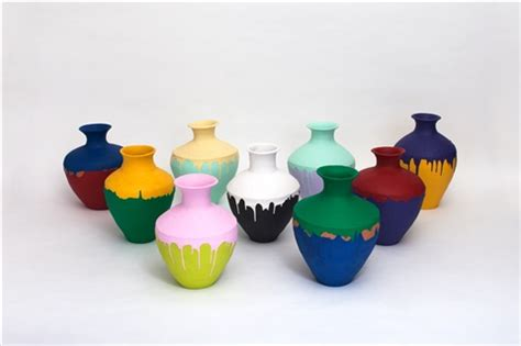 ai weiwei vase colored vases by ai weiwei on artnet