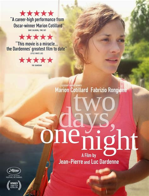 film one day two nights two days one night movie review salty popcorn
