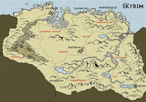 map of skyrim skyrim map 25 different maps of skyrim to map out your journey