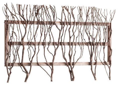 twig wall decor twig and branch rectangle wall decor transitional