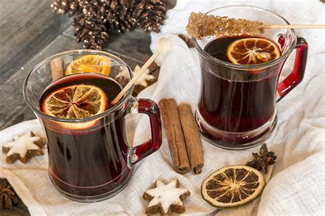 health benefits  drinking mulled wine  christmas