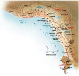 south america atacama desert map geography