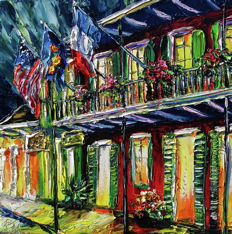 paint nite orleans new orleans at painting flags by beata sasik