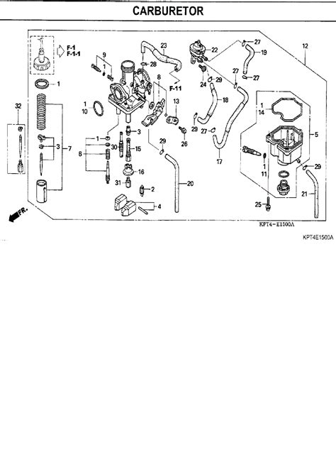 crf150f carb wiring diagrams wiring diagram schemes