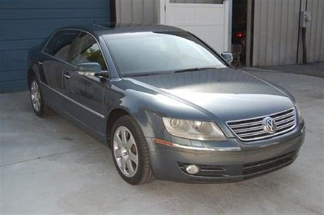 old car manuals online 2006 volkswagen phaeton electronic throttle control buy used warranty 2004 vw phaeton awd v8 luxury sedan nav sunroof leather 04 a8 4wd 4x4 in