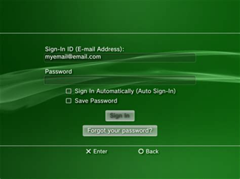reset ps3 online account how to change your sign in id on psn