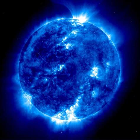 Blue Nasa blue sun nasa by ligaliteraria on deviantart