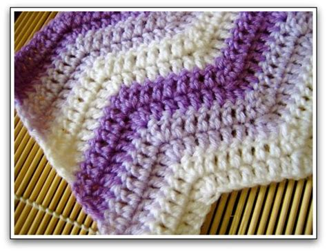 free knitted ripple afghan pattern knit ripple afghan pattern free patterns