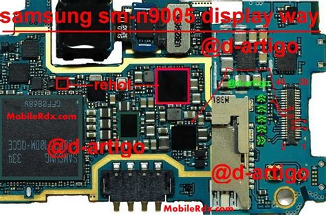 Blank Samsung Note 3 samsung sm n9005 lcd display white or blank solution