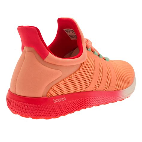 adidas cc sonic womens pink orange sneakers running sports shoes trainers ebay