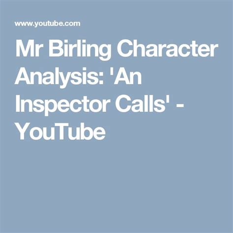 themes explored in an inspector calls the 25 best an inspector calls analysis ideas on