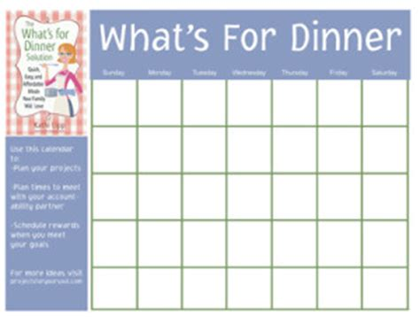 menu design what s for lunch the what s for dinner solution
