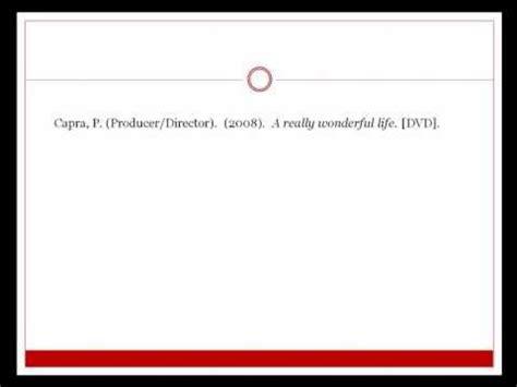apa format video clip download 3 52 mb apa citation for a video clip free