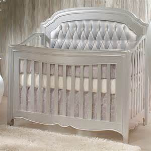 White Distressed Bookcase Alexa Convertible Crib Diamond Tufted Panels And Nursery
