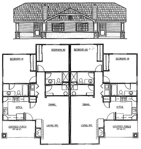 2 bedroom duplex plans 2 bedroom duplex