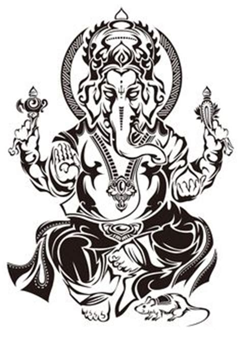 ganesh tattoo nyc hand drawn laser cut metal wall art ganesh head by