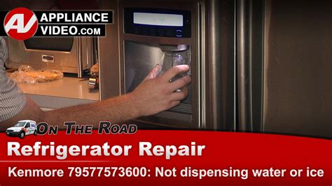 kenmore  refrigerator  dispensing water