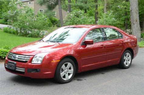 how things work cars 2009 ford fusion transmission control buy used 2009 red ford fusion se v6 6 speed automatic transmission in acton massachusetts