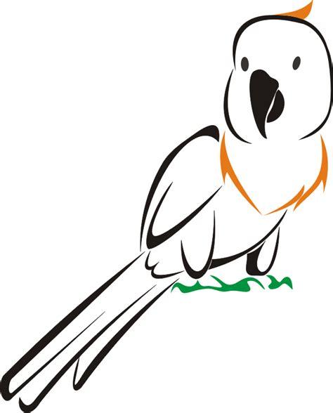 format gambar berbasis citra vektor logo burung kakatua format vektor berita online papua