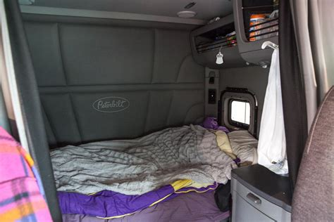 Inside Of An 18 Wheeler Sleeper by Photos From Inside The Cabs Of Distance Truckers