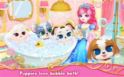princess puppy princess palace royal puppy android apps on play