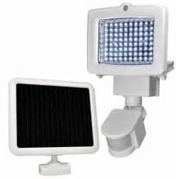 motion lights sunforce 80 led solar motion light