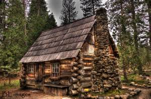 yosemite national park rustic cabin log cabins