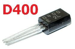 transistor npn d400 d400 datasheet vcbo 25v npn transistor sanyo