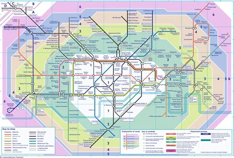 printable tube map zone 1 the london tube map archive