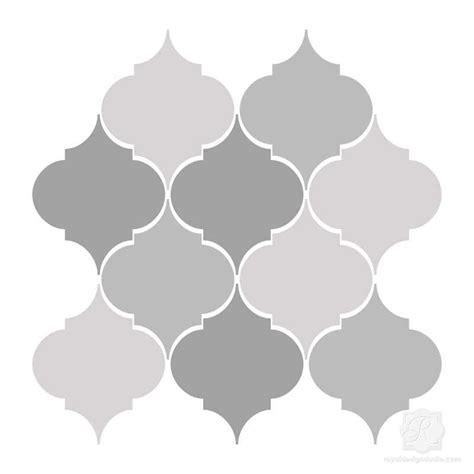 moroccan shapes templates printable moroccan stencils studio design gallery