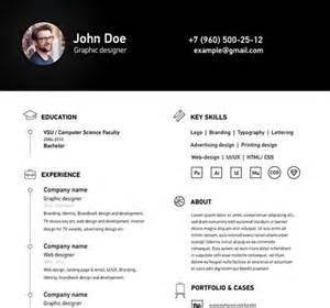 free simple clean a4 resume cv template vector titanui